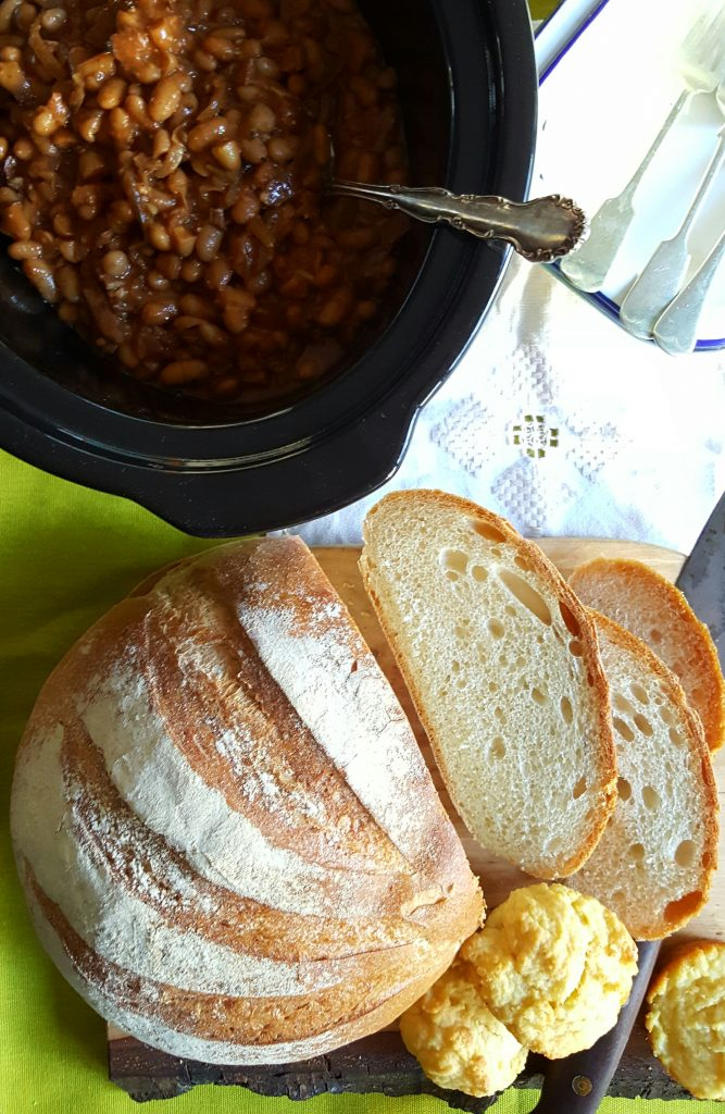 Bibliocook.com - slow cooked homemade baked beans