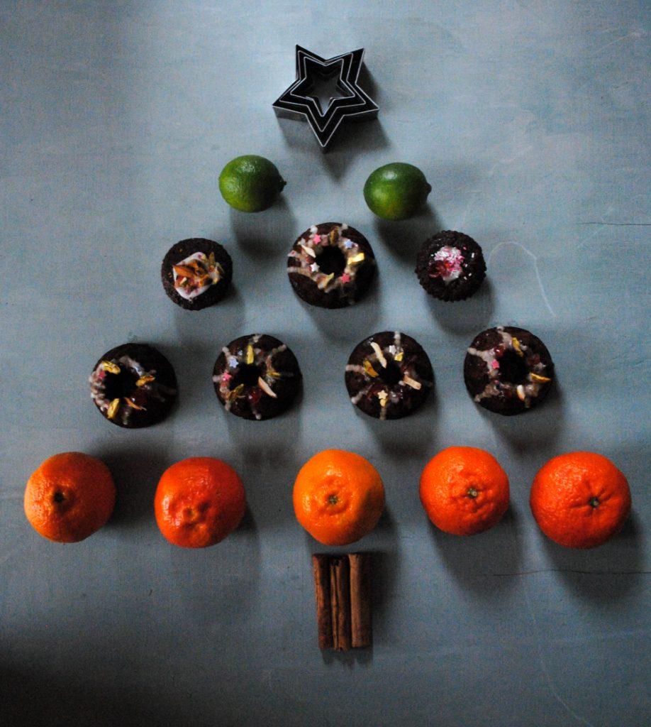 Bibliocook.com - gingerbread and citrus Christmas tree
