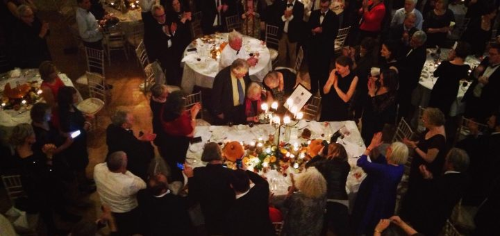Bibliocook.com - Veronica Steele of Milleens being presCÁIS Lifetime Achievement Award.ented with a CÁIS Lifetime Achievement Award. at Ballymaloe in 2015