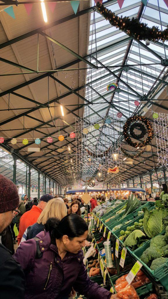 Bibliocook.com - Belfast Nov 2017 - St George's Market
