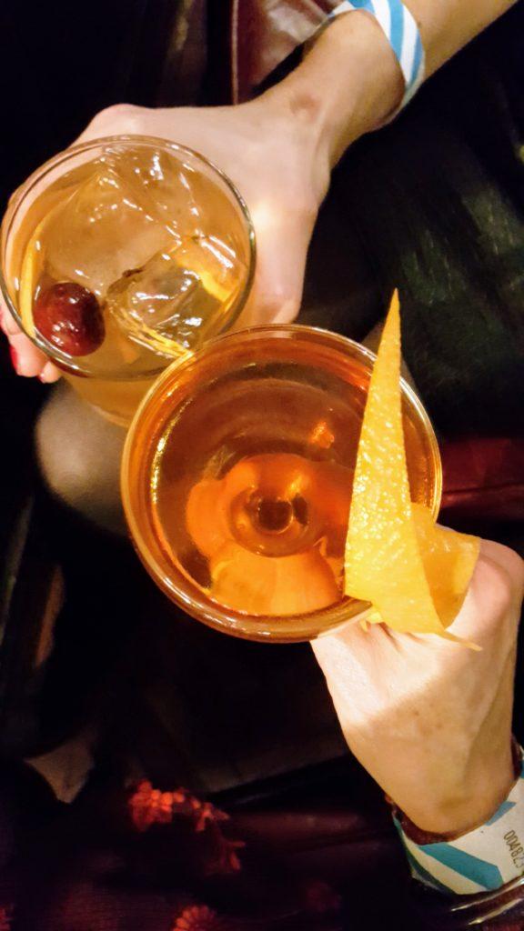 Bibliocook.com - Belfast Nov 2017 - cocktails at the Merchant Hotel
