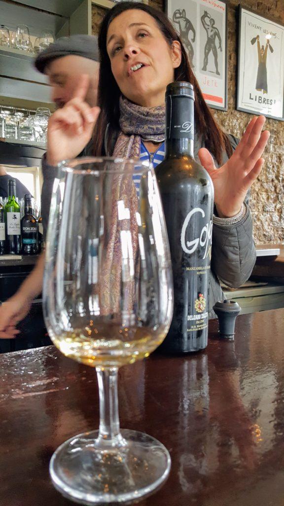 com - Gannet does Cork - Goya XL Manzanilla en Rama sherry at L'Atitude 51