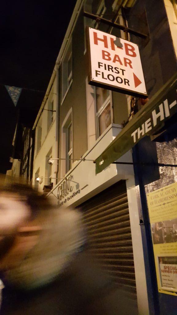 com - Gannet does Cork - The Hi-B Bar, Oliver Plunkett Street