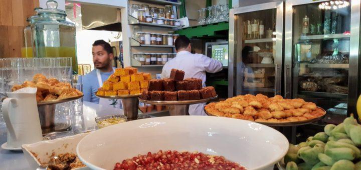 Bibliocook.com - Desert buffet at Tawlet, Beirut