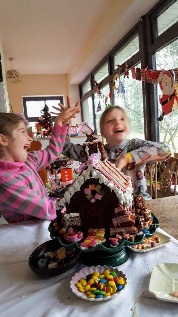 Bibliocook.com - Gingerbread House 2018 - Finished