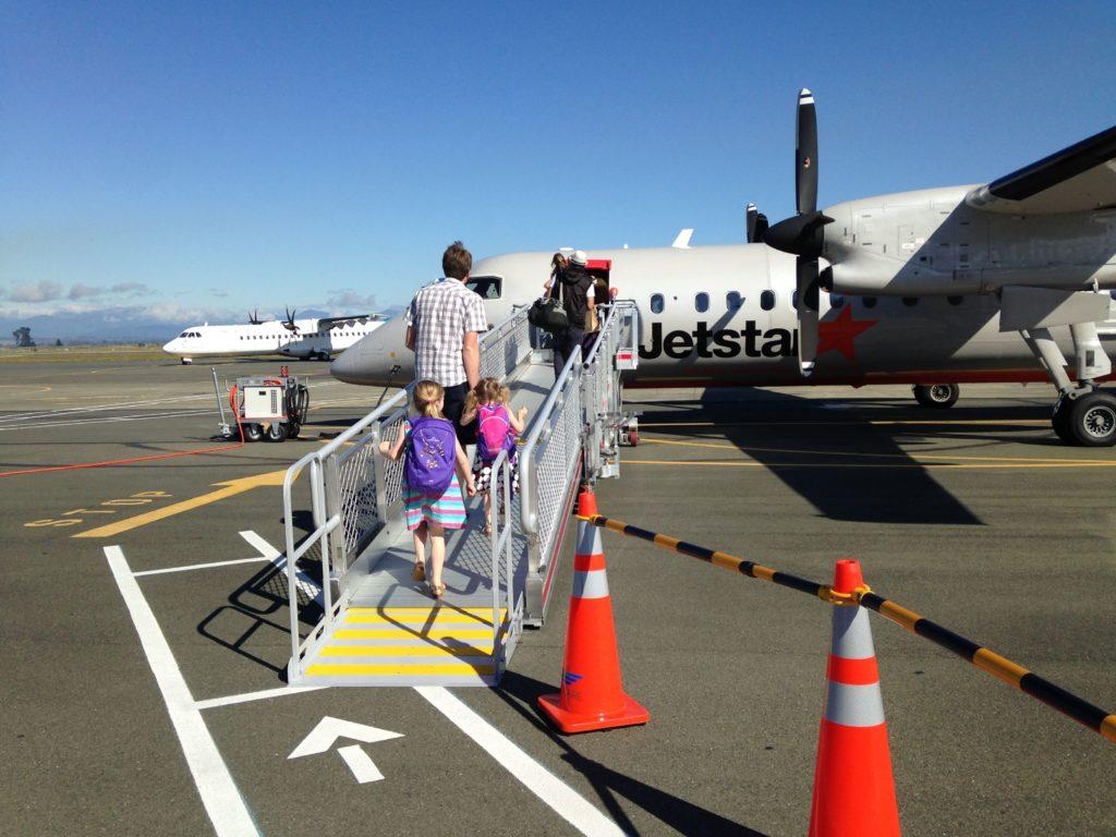 Bibliocook.com - Flying with kids - NZ 2016