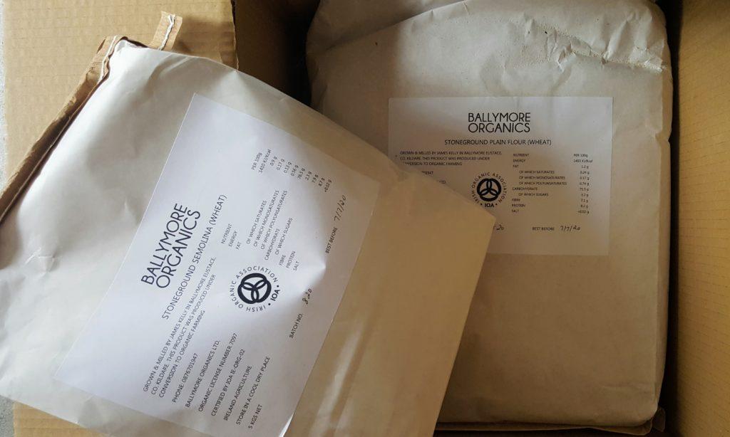 Bibliocook.com - Ballymore Organics flour delivery