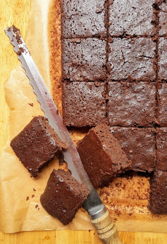 Bibliocook.com - Double Chocolate Cider Brownies