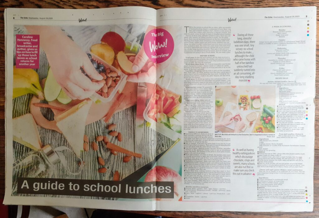 Bibliocook.com - The Echo - A guide to school lunches