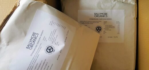 Bibliocook.com - Irish millers - Ballymore Organics semolina and plain flour
