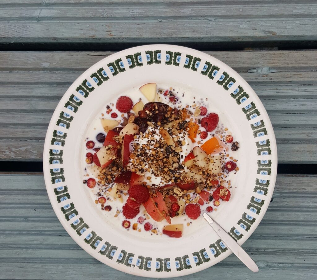 Bibliocook.com - overnight oats with Ballymore Organics porridge oats