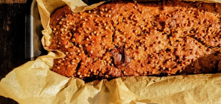 Bibliocook.com - Hallelujah banana bread from Clever Batch by Susan Jane White